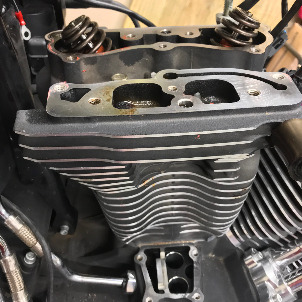 Cylinder Head Removal W126: Conversion: Cylinder Heads, Cylinders And Piston Removal